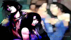 Squall and Rinoa psp wp by SingerYuna