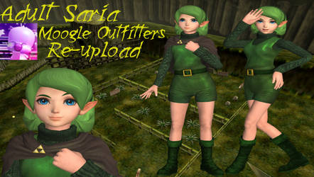 Xnalara Model- Adult Saria by Cold-Clux