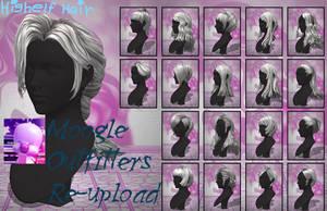 Xnalara Models- Highelf Hair by Cold-Clux