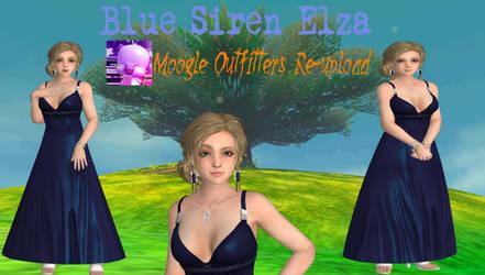 Xnalara Model-Blue Siren Elza Walker by Cold-Clux