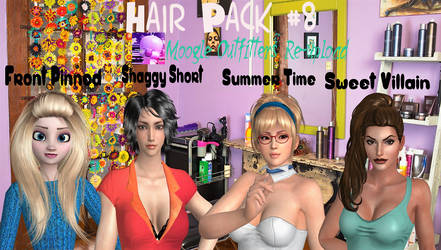 Xnalara Models-Hair Pack #8 by Cold-Clux