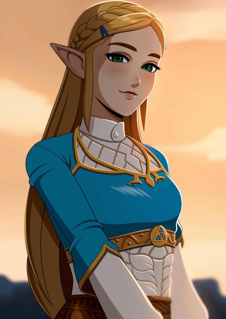 Zelda BoTW by akihiro94