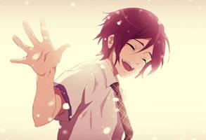 Little Rin Matsuoka (Free!) by YokoYokoNashi