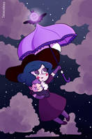 flying queen by Isosceless