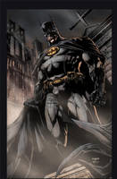 Batman pinup by jayfabs