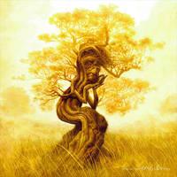 Leaflock by mikenashillustration