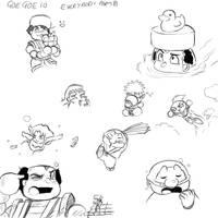 Goe Goe 10 Everybody Part B by geruru