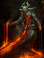 Volcanic Demon by PentaTree