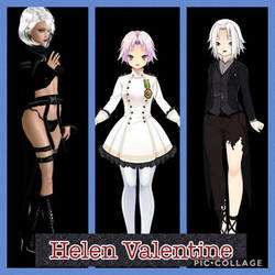 Helen Valentine by shaqkill