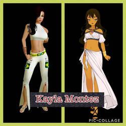 Kayla Montez by shaqkill