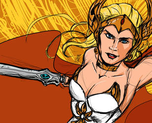 She Ra by LordCoatl