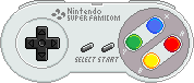 Super Famicom Controller [JPN/EUR] by BLUEamnesiac