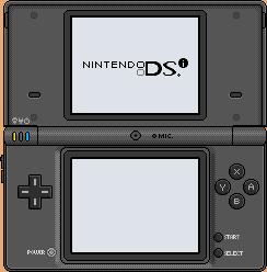 Nintendo DSi [black] by BLUEamnesiac