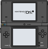 Nintendo DSi [black] by BLUEamnesiac