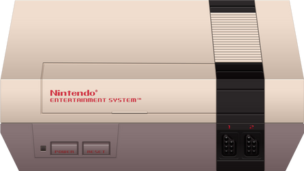 Nintendo Entertainment System by BLUEamnesiac
