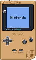 Game Boy Light [Gold] by BLUEamnesiac
