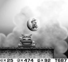 Super Mario Land 2 HD 02282014 by BLUEamnesiac