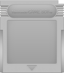 Nintendo Game Boy Cartridge [Silver] by BLUEamnesiac