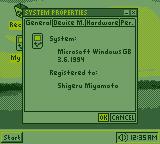Windows GB: System Properties by BLUEamnesiac