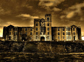 Abandoned Military Academy by Stone1980
