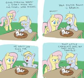 happy pony easter fun time. by yeendip