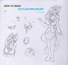 How to draw Delilah Boulevard Basic concept part 1 by Pace-Maker