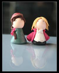 Sophie and Hauru by Shiritsu