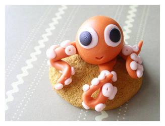 Happy Octopus by Shiritsu