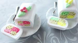 Checkered cake by Shiritsu