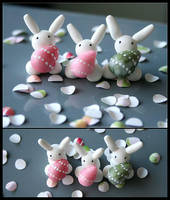 Easter Egg Bunnies by Shiritsu