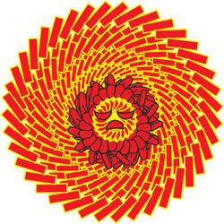 Circle Sun by ersinertan