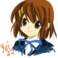 Sketch and Colored - Yui by Azelilia