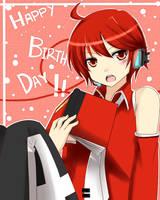 -Happy Birthday Hazel- by Azelilia