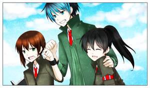 .:DoN:. Trio : -M.E.M.O.R.I.E.S- by Swanamii