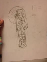 Kimono (not done!) by hilljekvist