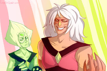 Peridot and Jasper by Simply-Psycho