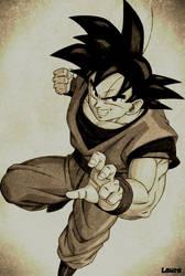 Goku by SonGohan10