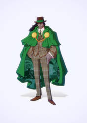 Dr Doom - gentleman-Yakuza by yoanndurand