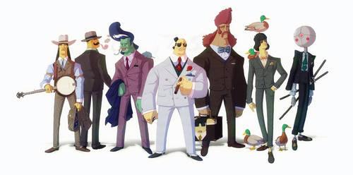 Sartorial inspiration : The Tanaka Gang by yoanndurand