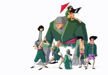 The Chung Squad by yoanndurand