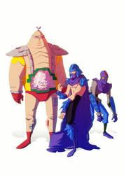 TMNT toys by yoanndurand