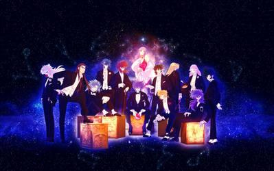 Black tie party at the Sanctuary - SAINT SEIYA by yoanndurand