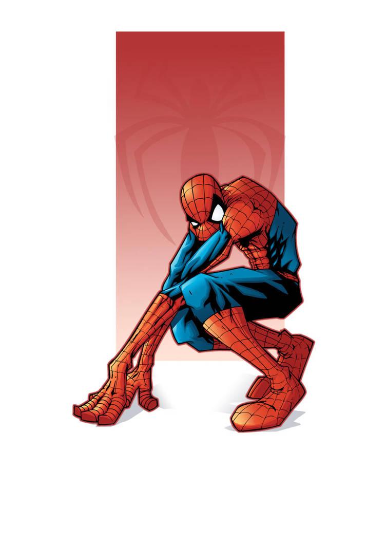 spider-man color version by yoanndurand