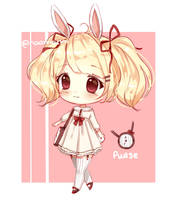 Bunny adopt auction [closed] by naomochi