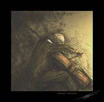 impression : Rostropovich by Askhari