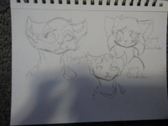 Older Generation Sketch Page by Maple-and-Co