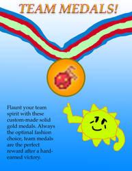 CTC Season 3 Challenge 1: Team Medals! by MeesterTweester