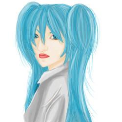 Miku Hatsune Realistic by ZerHypno