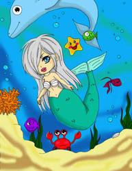 Siren Chibi by ZerHypno