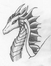 Dragon OC - Malra by LuzrovRulay